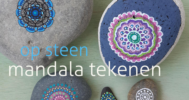 Workshop Mandala tekenen op steen